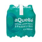 Aquelle Sparkling Natural Spring Water 500ml x 6