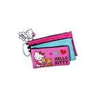 Hello Kitty 3 Compartment Pencil Case