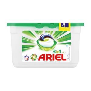 Ariel Liquid Detergent Capsules 14's
