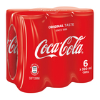 Coca-Cola Regular Can 300ml x 6