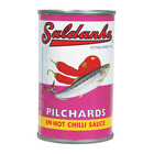 Saldanha Pilchards In Hot Chilli Sauce 155g