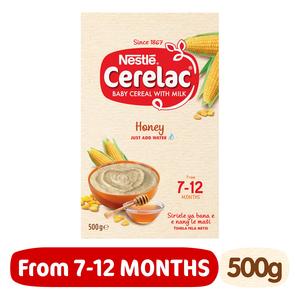 Nestle Crerelac Infant Honey Cereal 500g