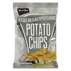 PnP Sea Salt & Black Pepper Chips 125g