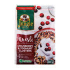 JUNGLE MUESLI CLUSTERS C/BERRY YOG 400GR