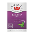 Five Roses Earl Grey Flavoured Tea 50ea