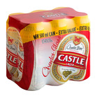 Castle Lager Can 500ml x 6