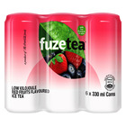 Fuze Tea Ready to Drink Red Fruits 330 ML x 6