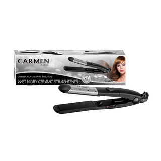 Carmen 2 In1 Curling Tong & Hot Brush