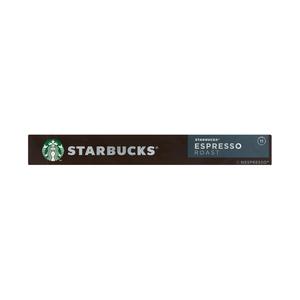 Starbucks® Espresso Roast by Nespresso® Dark Roast Coffee 10 Capsules