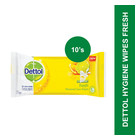 Dettol Fresh Personal Care Wipes 10s