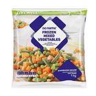 No Name Frozen Mixed Vegetables 1kg