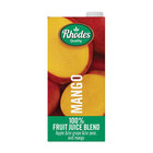 Rhodes 100% Mango Fruit Juice 1l x 6