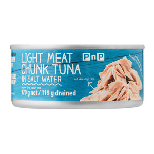PnP Tuna Chunks in Salt Water 170g