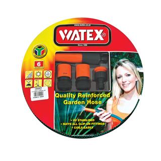 Watex 12mm X 20m Hose With F Itting&sprinkler