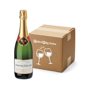 Darling Cellars Blanc de Blancs Brut MCC 750ml x 6