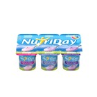 Danone Nutriday Smooth Berry Medley Yoghurt 6x100g