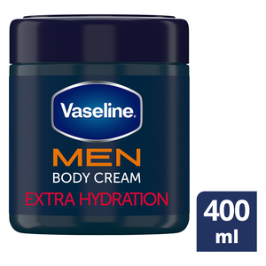 Vaseline Men Body Cream Extra Strength 400ml