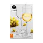 Libbey Envy White Wine Glass 4 Pack