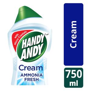 Handy Andy Ammonia Multipurpose Cleaning Cream 750ml