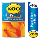 Koo Peach Slices in Syrup 410g