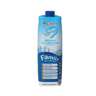 CLOVER CARE FULL CREAM UHT MILK 1L