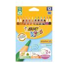 BIC Traingle Colour Pencils 12ea