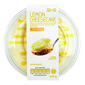 PnP Zesty Lemon Cheesecake 445g