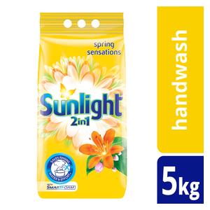 Sunlight Hand Washing Powder 2In1 Regular 5kg