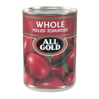 All Gold Whole Peeled Tomatoes 400g x 12