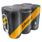 Schweppes Soda Water Can 200ml x 6