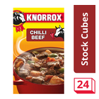 Knorrox Chilli Beef Stock Cubes 24s