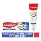 Colgate Total 12 Advanced Whitening, Multibenefit Toothpaste 75ml