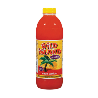 Wild Island Peach And Apricot Dairy Blend Cordial 1 Litre