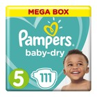 Pampers Active Baby Nappies Mega Pack Junior Size 5 111s