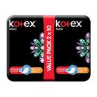 Kotex Black Maxi Pads Normal + Wings 20s