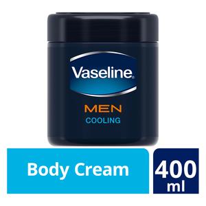 Vaseline MEN Cooling Moisturising Body Cream 400ml