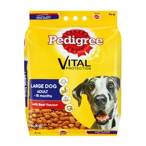 Steak Flavoured Dry Dog Food 6Kg