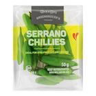 PnP Serrano Chillies 50g