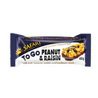 Safari To Go Peanut & Raisin Bar 40g