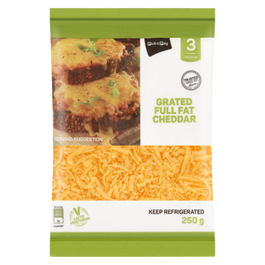 PnP Grated Cheddar 250g