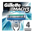 Gillette Mach 3 Turbo Cartridges 4s