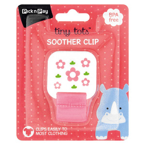 PnP Tiny Tots Square Soother Chain