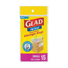 Glad Storage Pantry Zip Seal Small 15