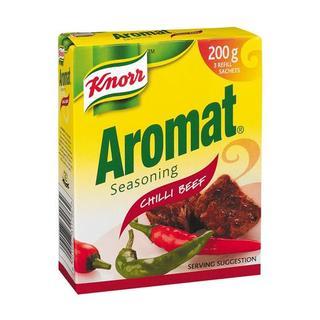 Knorr Aromat Chilli Beef Seasoning Trio Refill Pack 200g