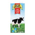 First Choice Long Life Full Cream Milk  1l