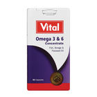 Vital Omega 3 And 6 Concentration Tablets 30ea