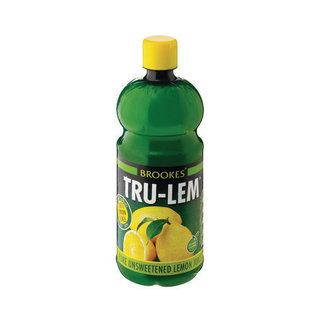 Brookes Tru-Lem Lemon Juice 500 ML x 12