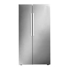 Defy 740l Metallic SBS Fridge DFF436