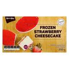 PnP Frozen Strawberry Cheescake 200g
