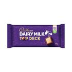 Cadbury Slab Top Deck 150g